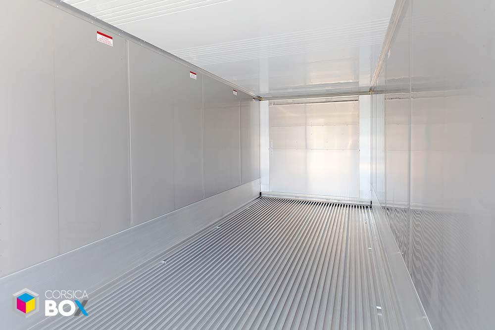 Corsica Box - container 20 pieds intérieur