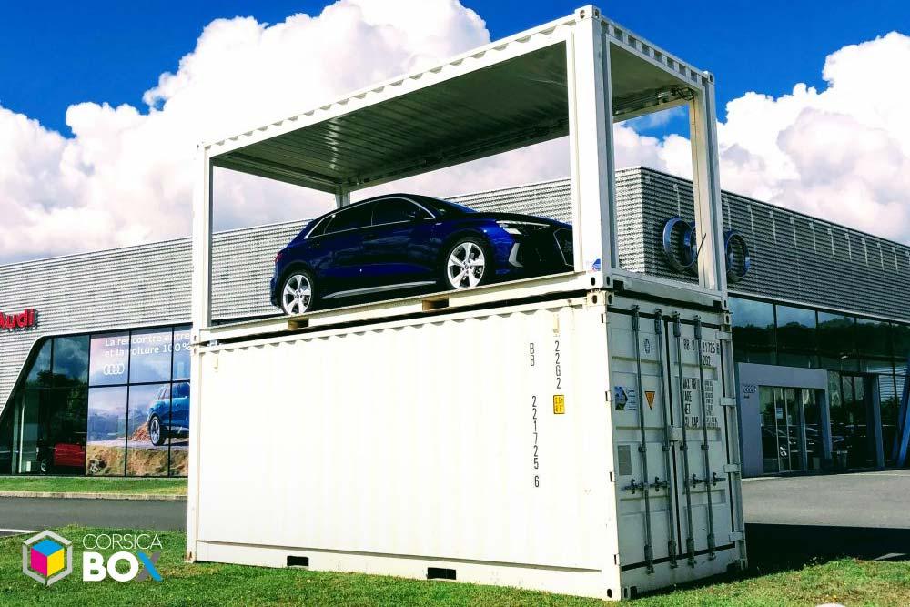 Corsica Box - container transformé 2