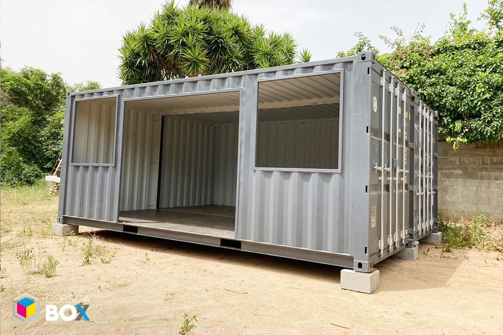 Corsica Box - container transformé 3