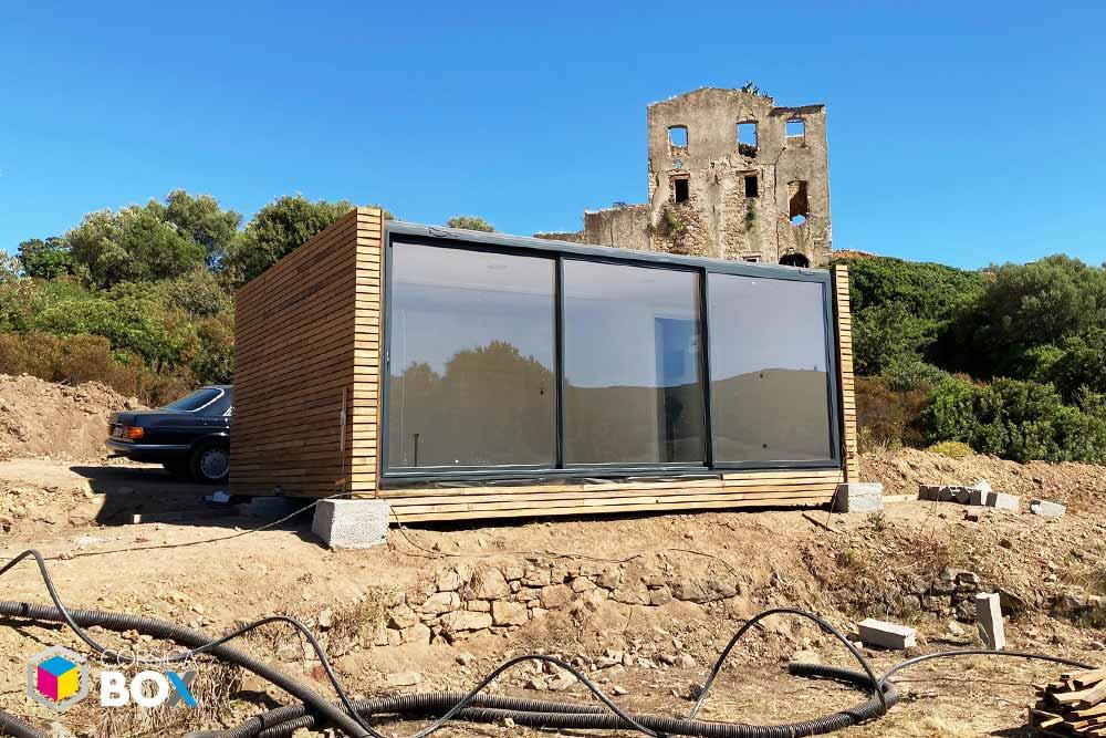 Corsica Box - container transformé 10